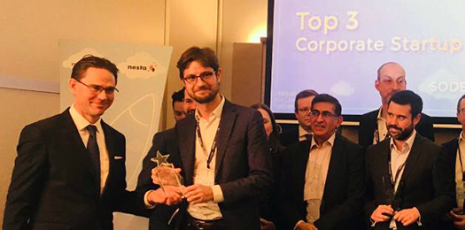 Sodexo Recognized Among Corporates Working Most Collaboratively with Startups Across Europe
