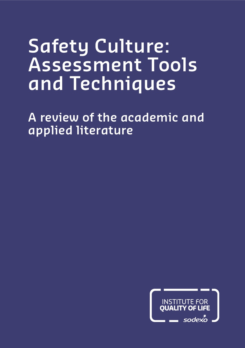 Safety culture: assessment tools and techniques